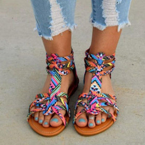 Colorful Boho Sandals