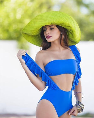 Rita Ruffle One Piece