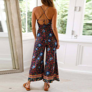 Spring Wide Leg Jumpsuit