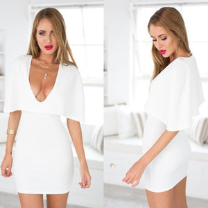 Pure O-White Mini Dress