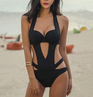 Sexy Cut Out One Piece