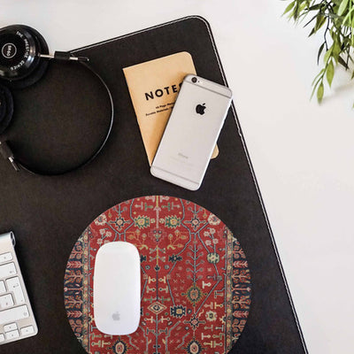 Persian Red Carpet Mouse pad