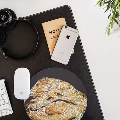 Jabba The Hutt Mouse Pad Star Wars Mouse Mat