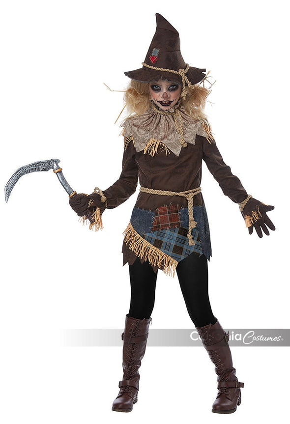 Creepy Scarecrow Girl