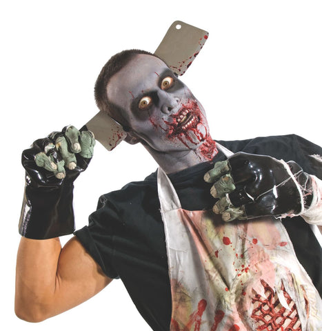 Scary Zombie Molded Gloves