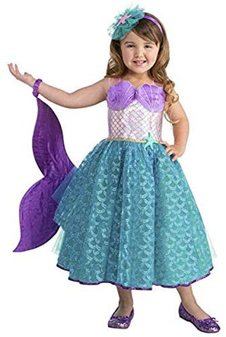 Seawater Sweetie Mermaid Toddler Costume