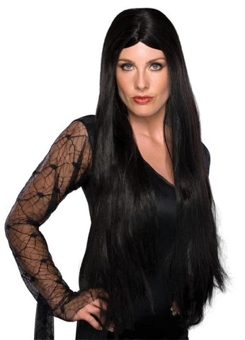 "Witch Wig Black 28"" Long"