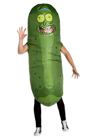 Rick and Morty Inflatable Pickle Rick Costume