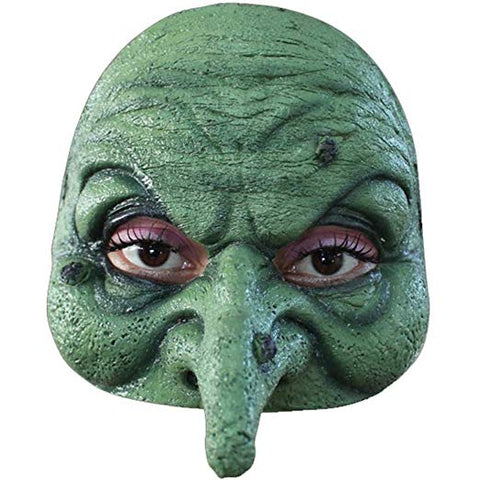 Ghoulish Productions Green Witch Half Mask