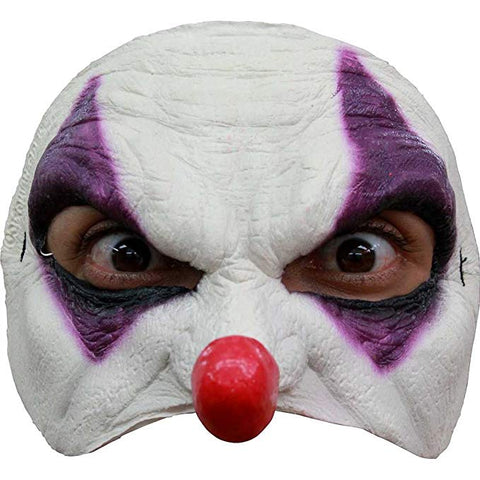 Ghoulish Productions Clown Mask Purple