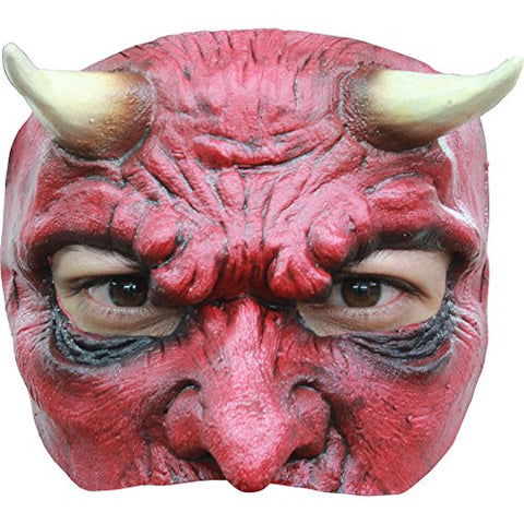 Ghoulish Productions Devil Half Mask
