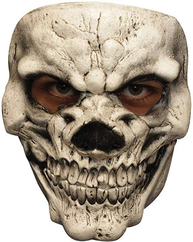 Ghoulish Productions White Skull Mask