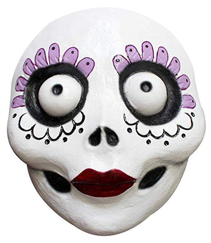 Ghoulish Production La Catrina Latex Mask