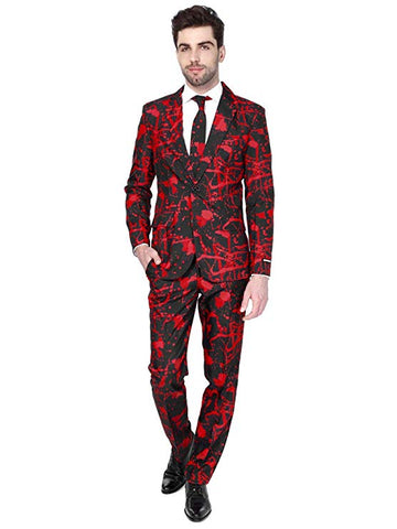 Opposuits Black Blood Adult Suit
