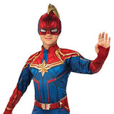 Captain Marvel Children's Deluxe Hero Suit