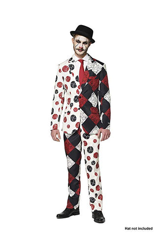Opposuits Halloween Red Clown Adult Suit