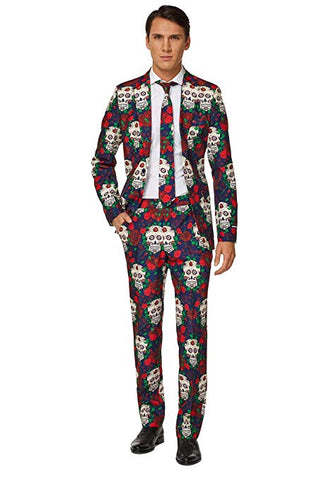 Opposuits Day of the Dead Adult Suit