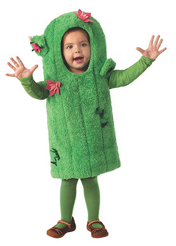 Cactus Girls Child Dessert Plant Costume