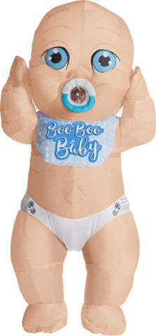 Boo Boo Baby Inflatable Adult Costume