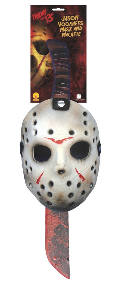 Jason Voorhees Mask and Machete