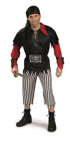 Pirate King Adult Costume