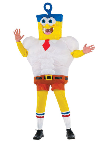 Invincibubble Spongebob Inflatable Adult Costume