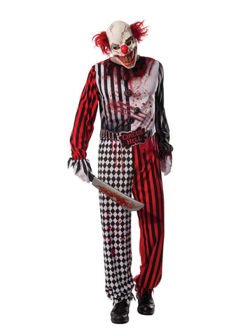 Evil Clown Costume Adult