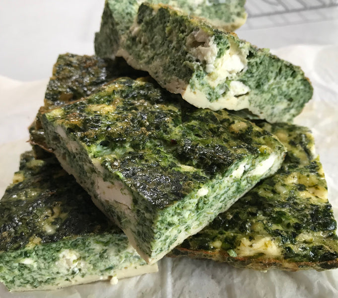 Spinach and Feta Fritatta