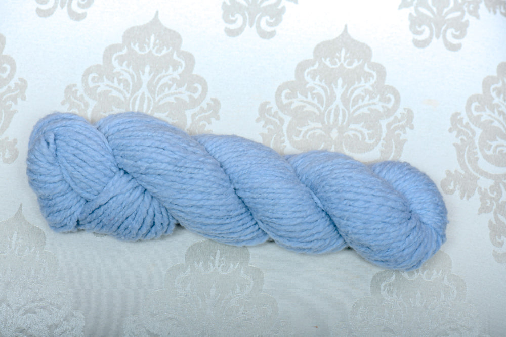 Faded Denim Fine Merino Wool