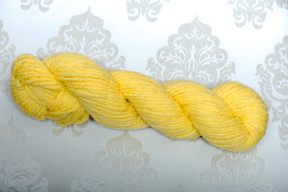 Fun Yellow Fine Merino Wool