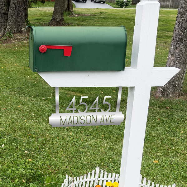 Slate Mailbox Sign