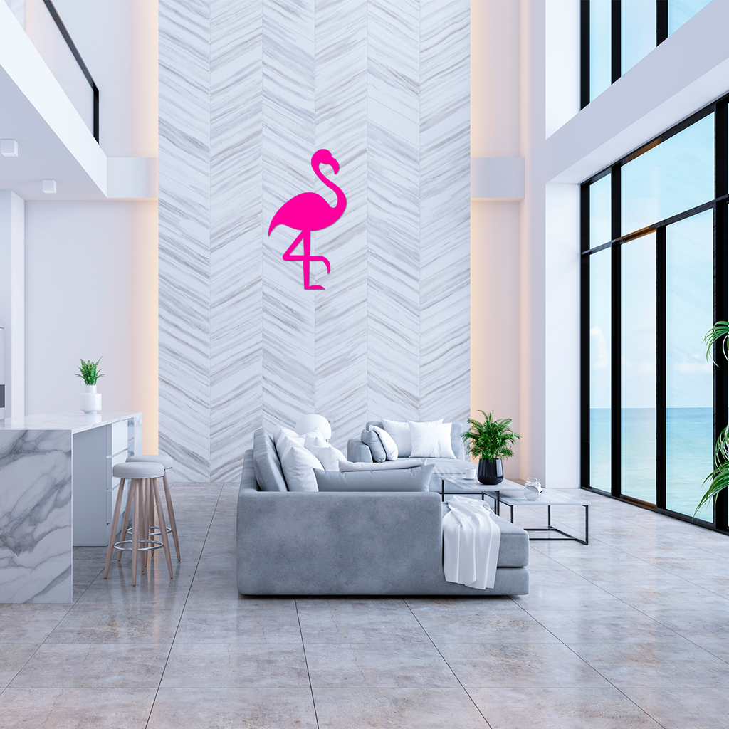 Flamingo Wall Sign