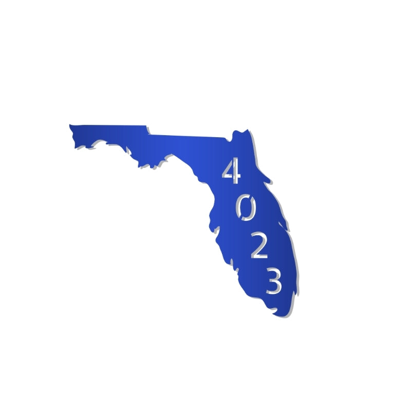 Florida Address Sign