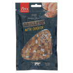 Grillers with Chicken (1 box of 12 bags)