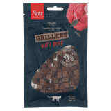 Grillers with Beef (1 box of 12 bags)