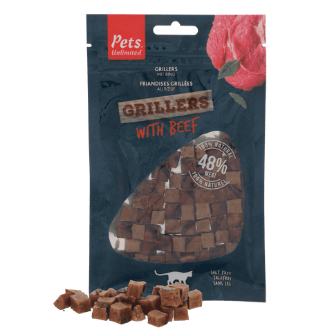 Grillers with Beef 50g