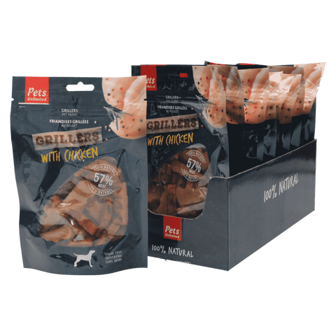 Grillers Chicken (1 box of 10 bags)