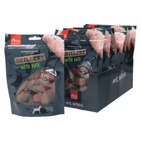 Grillers Duck (1 box of 10 bags)