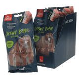 Chewy Bones with Duck Small 8 pc (1 box of 6 bags)