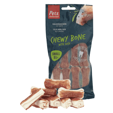 Chewy Bones with Duck Small 8 pc