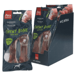 Chewy Bones with Duck Medium 2 pc (1 box of 6 bags)