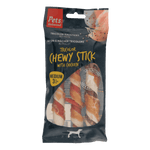 Tricolor Chewy Sticks with Chicken Medium 3 pc