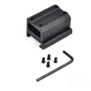 Full Cowitness Picatinny Riser Mount for Trijicon MRO Dot Sight