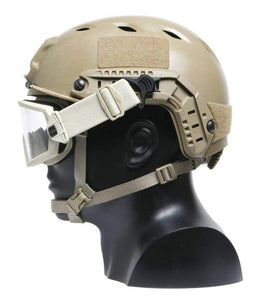 Swivel Goggle Clips for ARC Rail equipped Helmet
