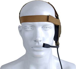 Armorwerx Closed Ear Military Communications Headset