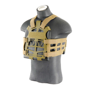 Lightweight Skeletonized Plate Carrier