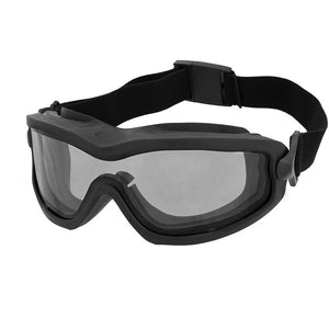 ANSI Rated Anti-Fog Tactical Goggles with Helmet Rail Adapters