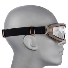 Load image into Gallery viewer, ANSI Rated Anti-Fog Tactical Goggles with Helmet Rail Adapters