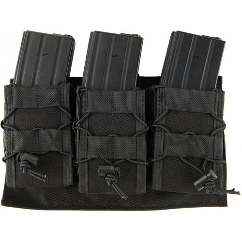MOLLE Attached Rifle Magazine Triple Pouch Placard