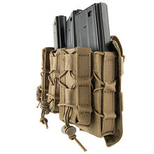 Load image into Gallery viewer, MOLLE Attached Pistol + Rifle Magazine Triple Pouch Placard